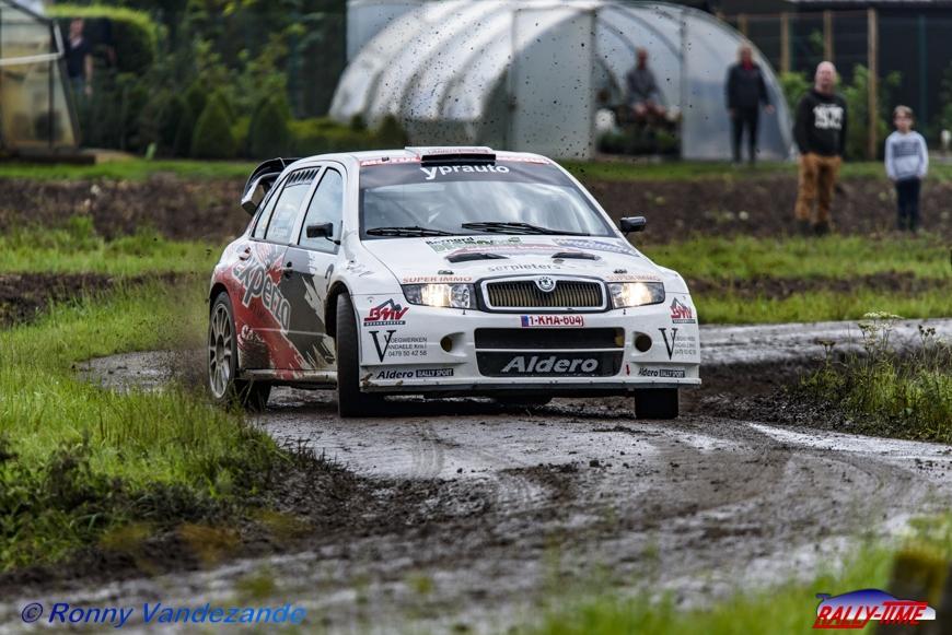 Paul Lietaer viert 40-jarig jubileum met Skoda Fabia WRC