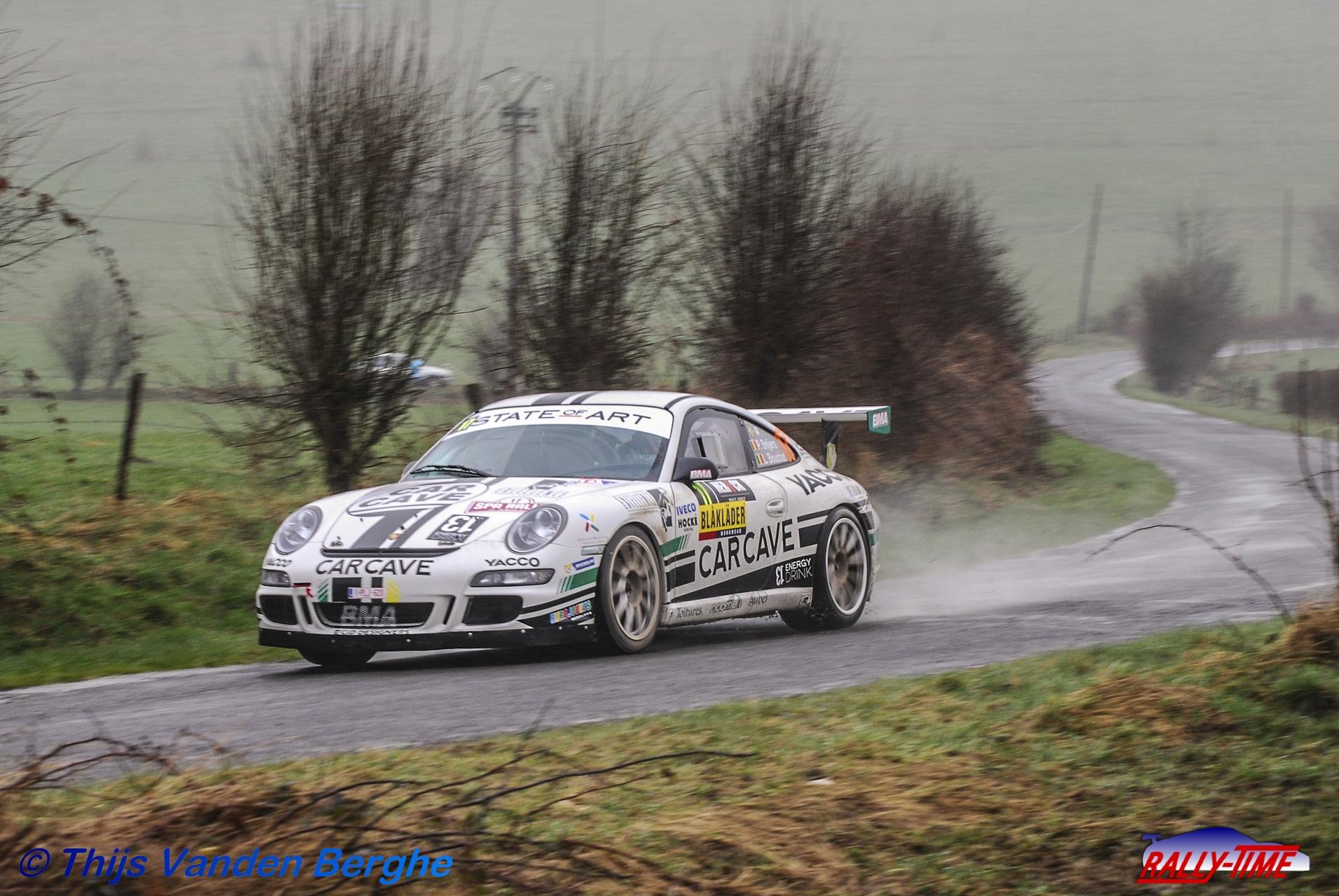 Ook Guillaume Dilley met Porsche 997 GT3 in Kortrijk